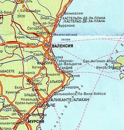 Изображения Валенсия Испания Карта / tonpix.ru Валенсия Испания Карта